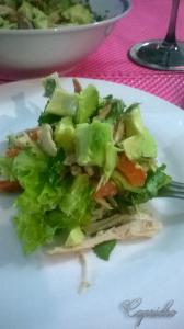 Salada com abacate 2
